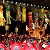 靖国神社 みたま祭り 御輿振り