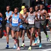 東京マラソン2017 トップ集団