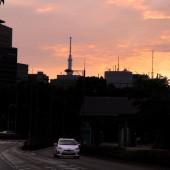 千代田代官町通りの朝