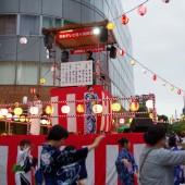 日本テレビ通り 納涼盆踊り大会