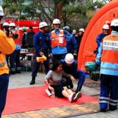 東京消防庁総合震災消防訓練