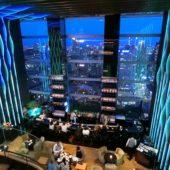 夜景(ザ・プリンスギャラリー東京紀尾井町の「Sky Gallery Lounge Levita」より)