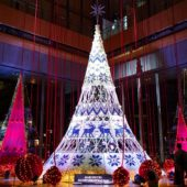 クリスマスツリー Knit Tree with Yuming(丸ビル)