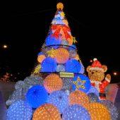 クリスマスイルミネーション(ザ・ペニンシュラ東京)