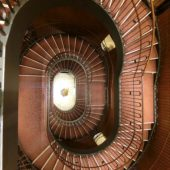 「東京會舘(丸の内)」の螺旋階段