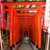 稲荷参道(日枝神社)