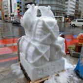 雪だるまコンテスト(第19回神田小川町雪だるまフェア)